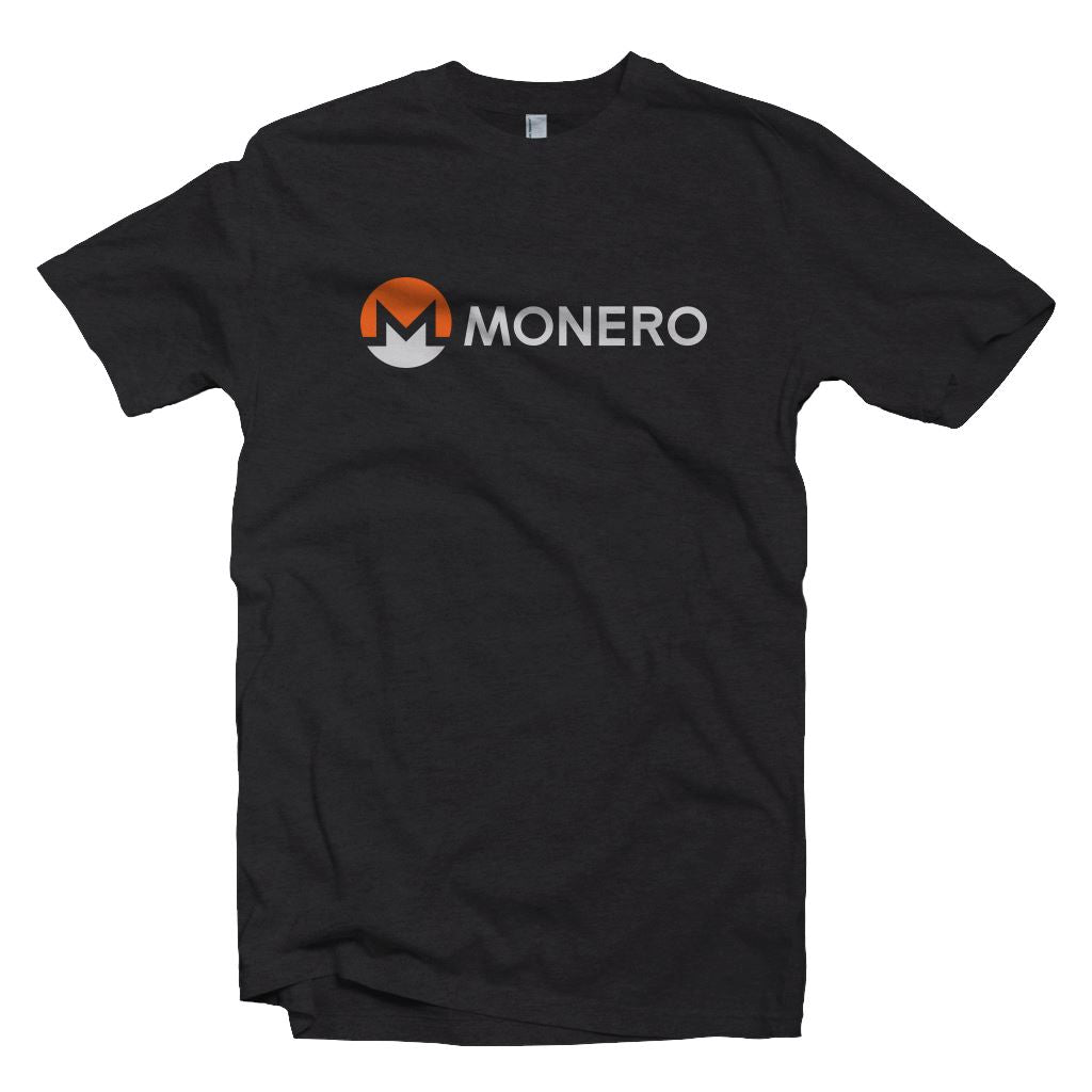 Monero XMR Cryptocurrency Logo T-shirt