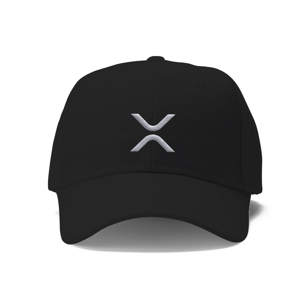 XRP (Ripple) Cryptocurrency Symbol Hat