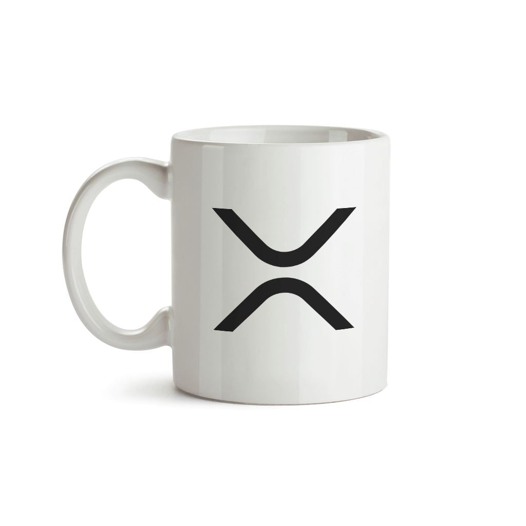 XRP (Ripple) Cryptocurrency Symbol Mug