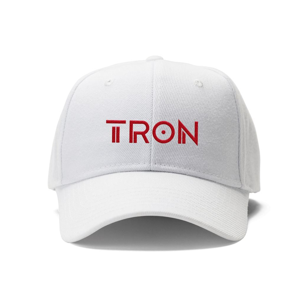 New Tron TRX Crypto Logo Hat