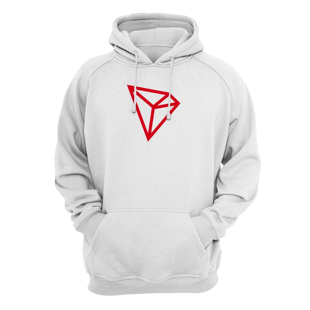 Tron TRX Cryptocurrency Symbol Hoodie