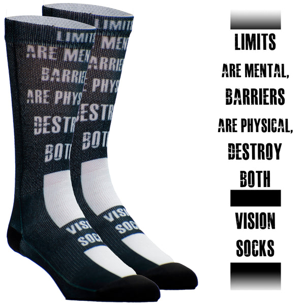 Limits are Mental, Barriers are Physical. Destroy Both.