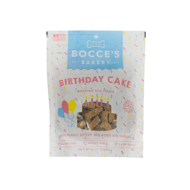 Bocce's Birthday Cake Biscuits