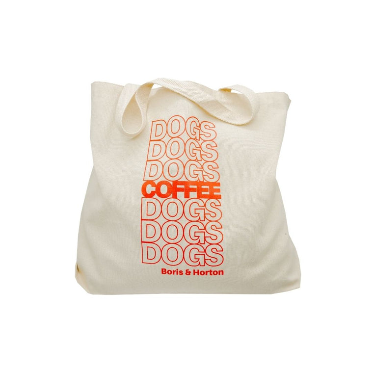 Coffee & Dogs Tote Bag