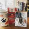 Boris & Horton Essentials: Travel Tumbler, Greeting Card, Beef Liver & Coffee Beans