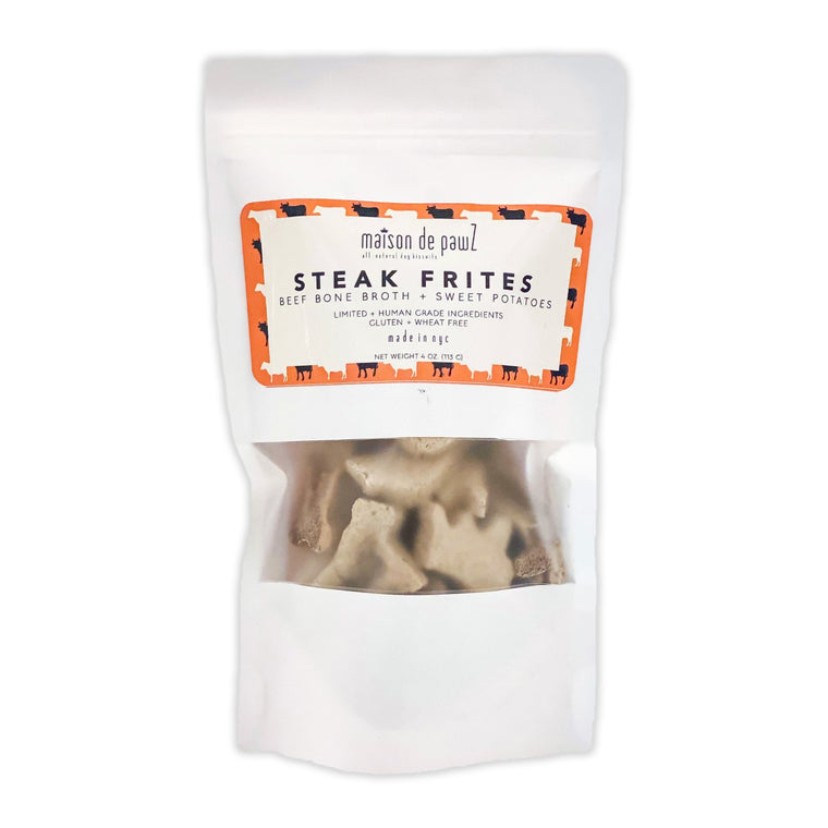 maison de pawZ Steak Frites Treats