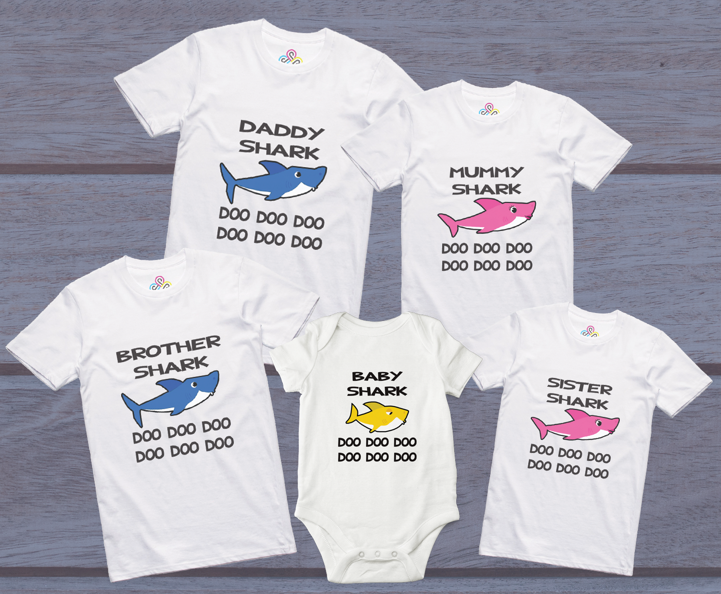 Image result for baby shark family t shirts