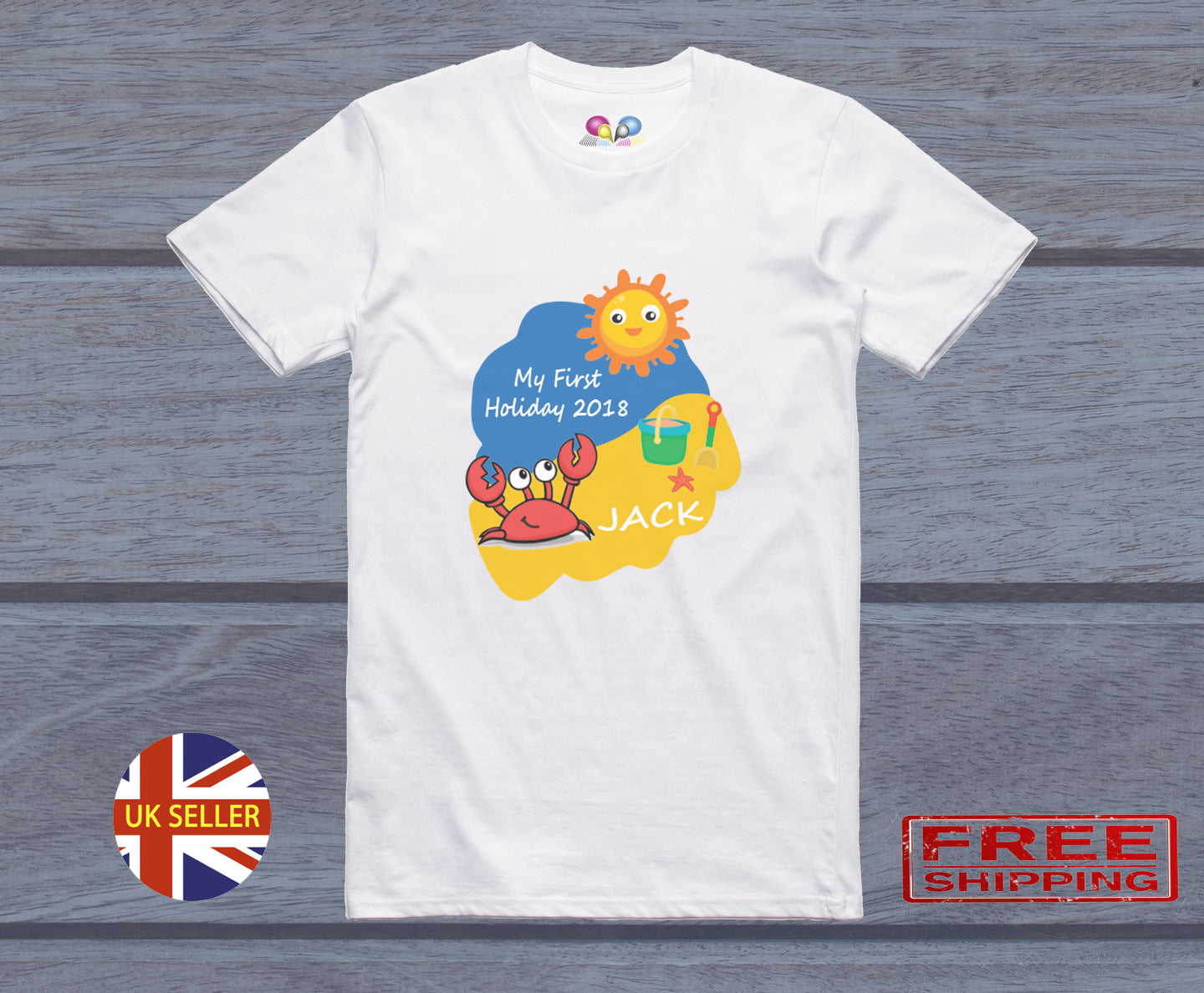 Big Brother In Training Blue Tshirt Baby Toddler Kids Available in Sizes from 0