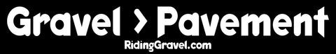 Gravel > Pavement Sticker Pack