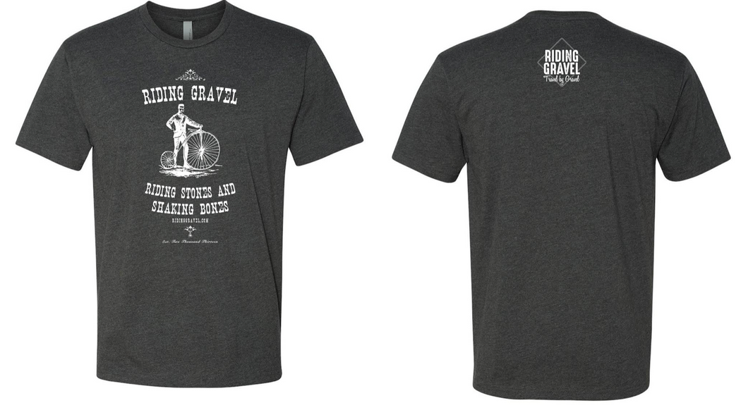 Riding Stones and Shaking Bones - Unisex Dark Gray (Shipping Included)