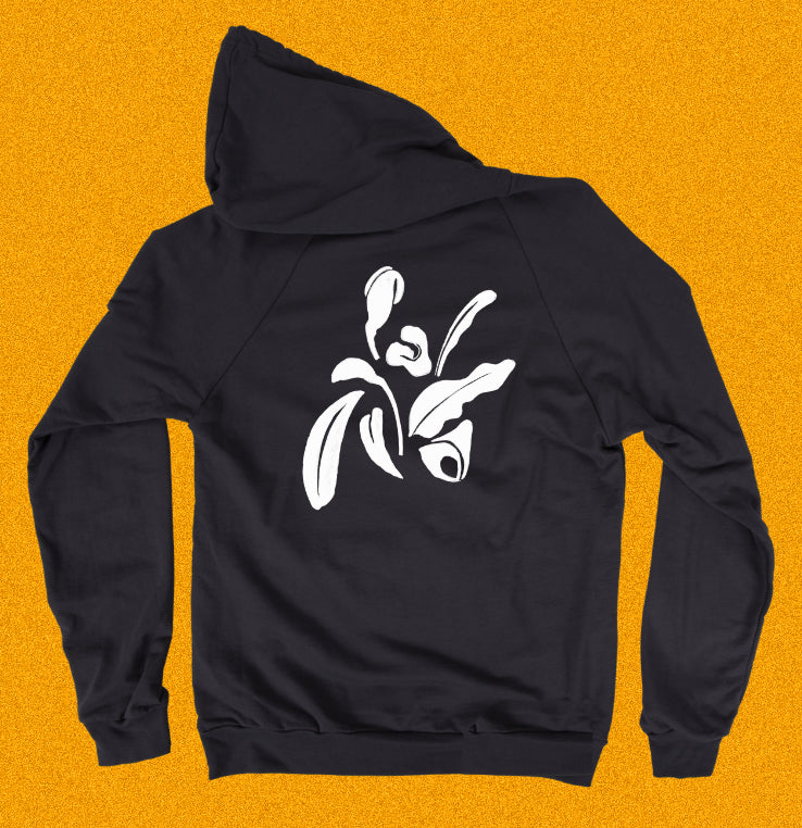 Orchid - Back Print Pullover Hoody