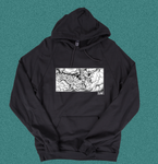 Grade - Front Print Pull Over Hoody
