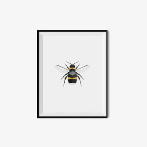 Bee - Geometric Art