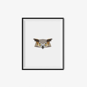 Owl - Geometric Art