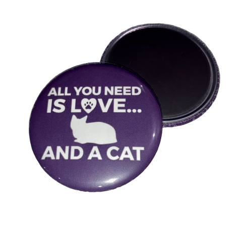 Magnet - All You Need Is Love... And A Cat