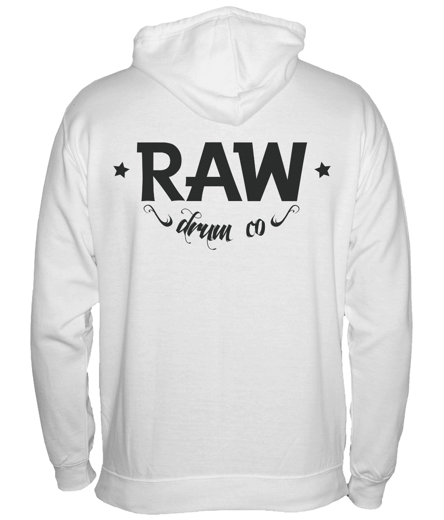 RAW Big and Bold Zip Up Hoodie