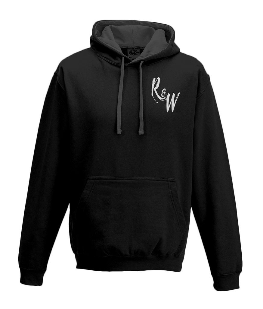 Rock & Whiskey 2 Colour Hoodie