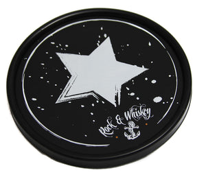 "RAW Star Rock Out Practice Pad, RAW, RAW Drum Co, Practice Pads, 6"", Small, Star Rock Out Pad"