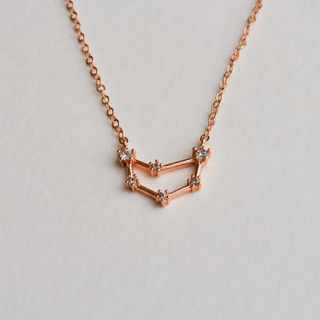 Capricorn Constellation Necklace - Aloraflora Jewelry