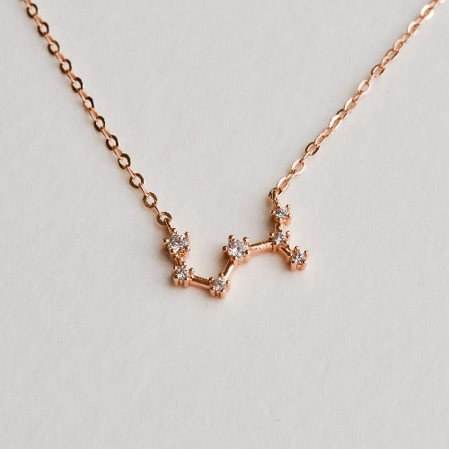 Scorpio Constellation Necklace - Aloraflora Jewelry