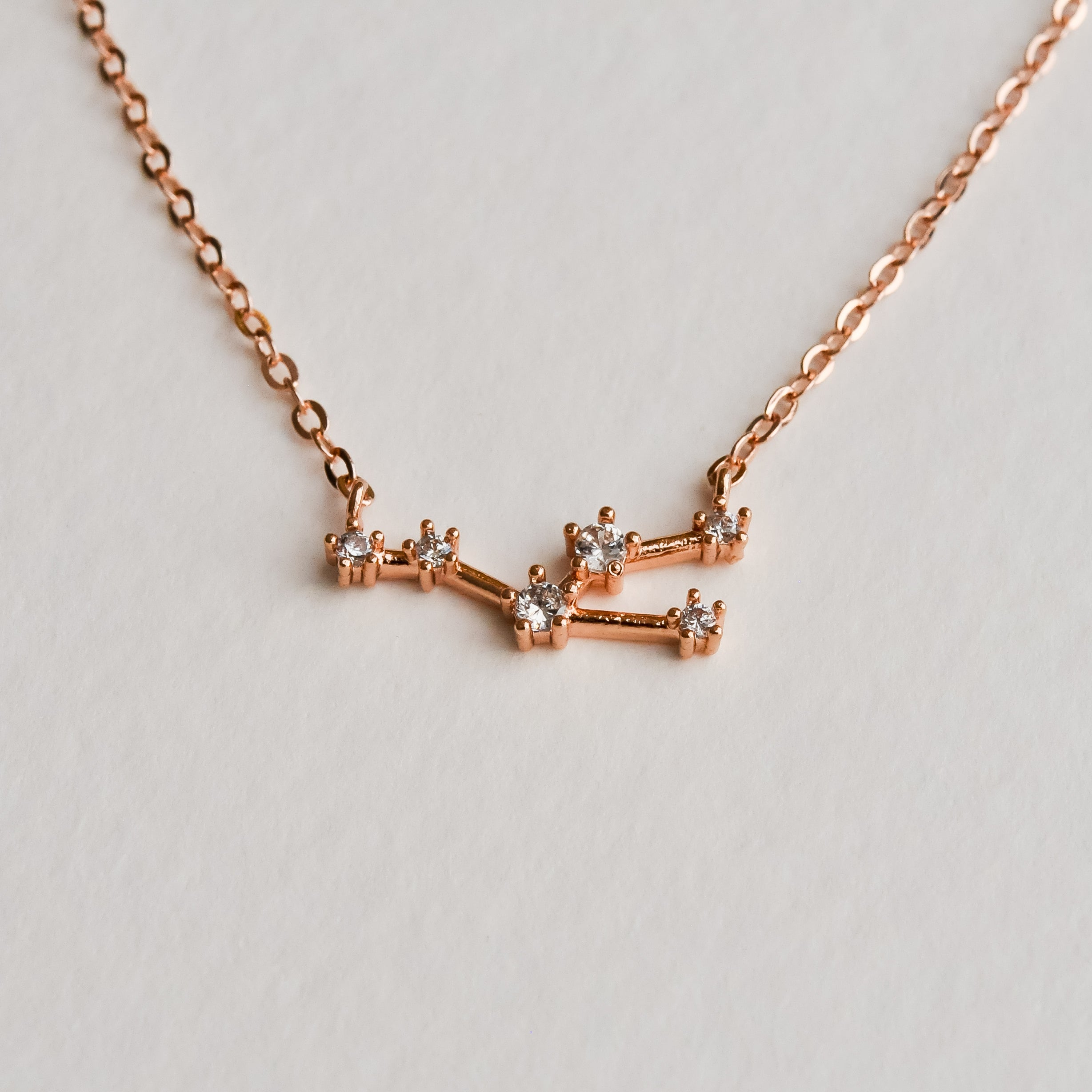 Taurus Constellation Necklace - Aloraflora Jewelry