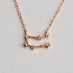 Gemini Constellation Necklace - Aloraflora Jewelry