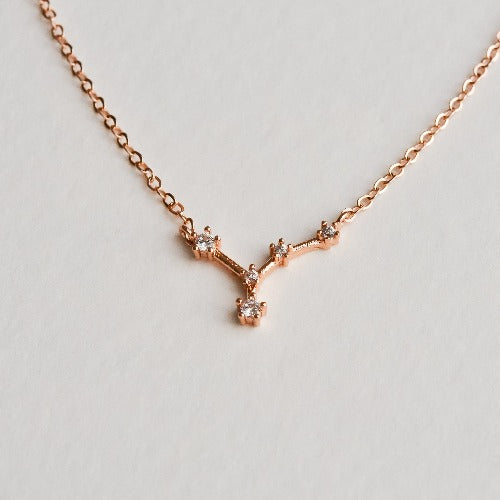 Cancer Constellation Necklace - Aloraflora Jewelry