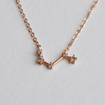 Aries Constellation Necklace - Aloraflora Jewelry