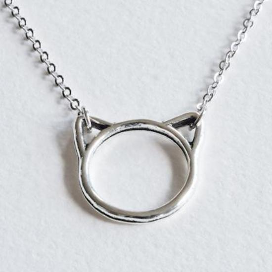 Cat Necklace - Aloraflora Jewelry