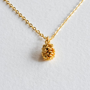Pinecone Necklace - Aloraflora Jewelry