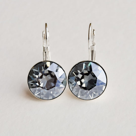 Swarovski Crystal Drop Earrings - Aloraflora Jewelry