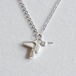 Hummingbird Necklace - Aloraflora Jewelry