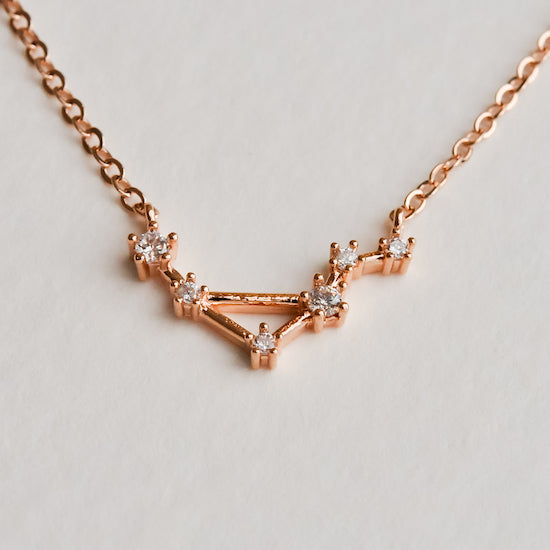 Libra Constellation Necklace - Aloraflora Jewelry