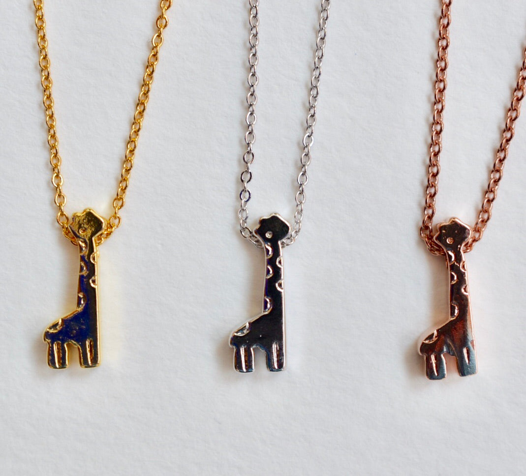 Giraffe Necklace - Aloraflora Jewelry