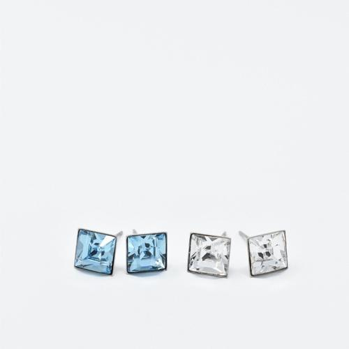Swarovski Square 8mm Studs