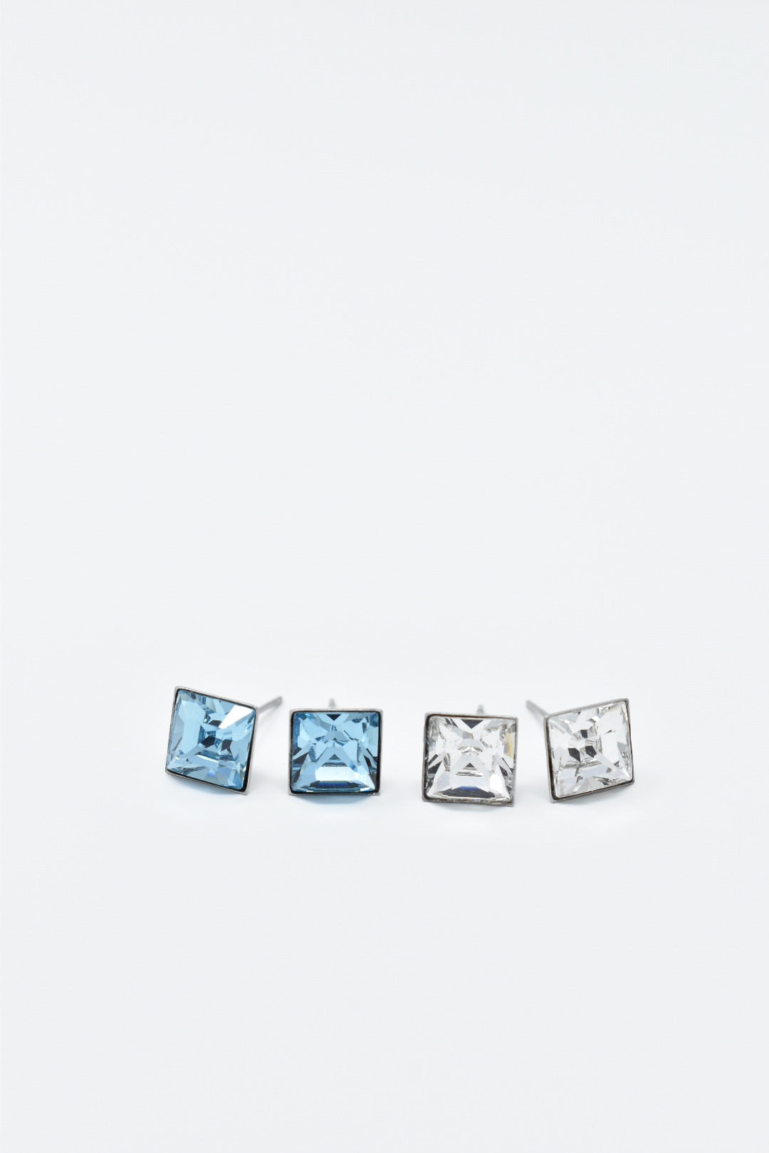 Square Swarovski Studs 8mm
