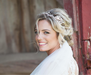 Boho Bridal Hair Vine - Aloraflora Jewelry