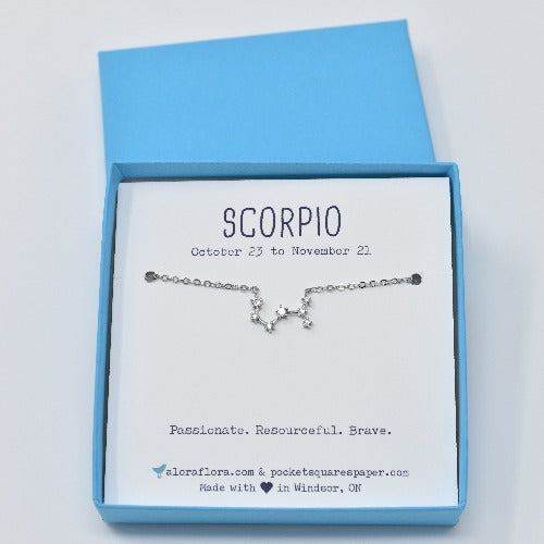 Scorpio Constellation Necklace