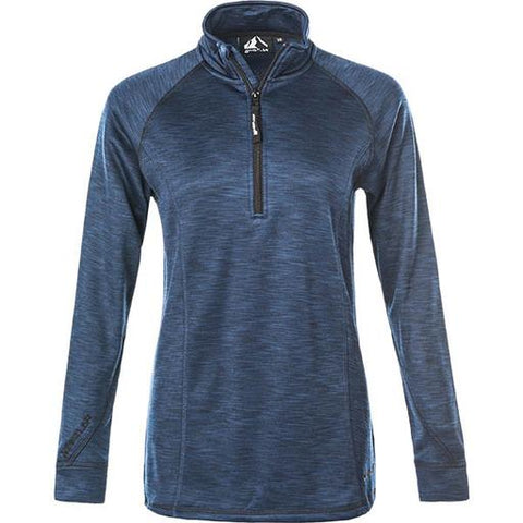Whistler Bartlett Ladies Mid/Baselayer Top - Navy