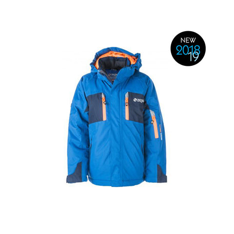 ZigZag Provo Junior Ski Jacket - Blue