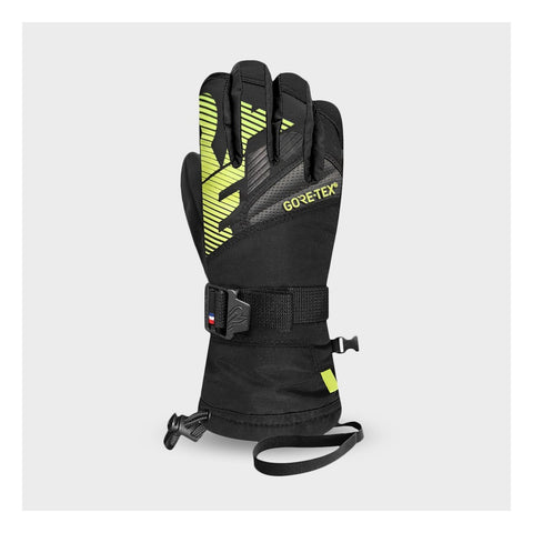 Racer Giga 3 Junior Ski Gloves - Yellow