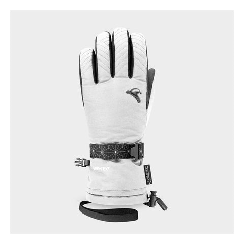 Racer Native 3 Ladies Ski Gloves - White