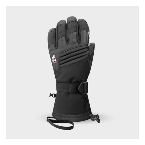 Racer GTK2 Black Mens Ski Gloves