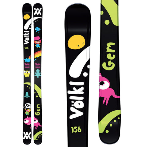 Volkl Gem Junior Skis - Flat