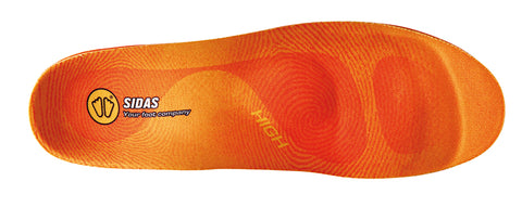 Sidas Winter 3Feet WInter High Arch insoles.