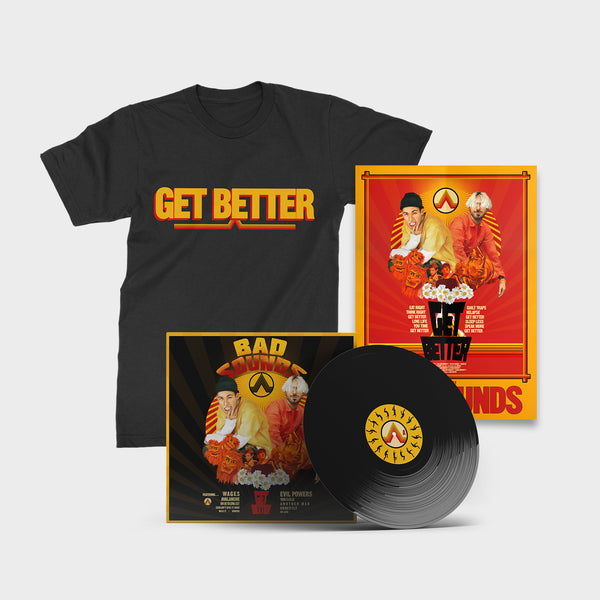 BUNDLE 5 - SIGNED LP/TEE/A1 POSTER