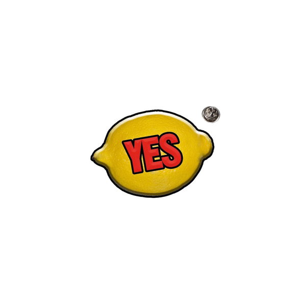 YES' LEMON BADGE