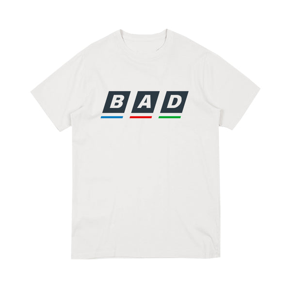 BAD BBC LOGO WHITE T-SHIRT