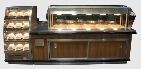 MOASI Custom Hot Food and Soup Island - Mother Of All Soup Bars - Custom - Any Size - Multi-Function - Call For Info!