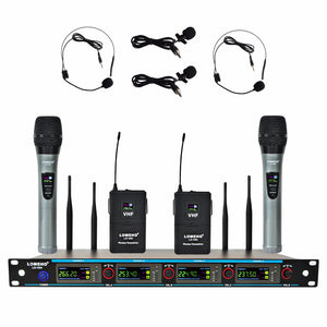 LOMEHO LO-V04 Karaoke KTV Church VHF Wireless Microphone